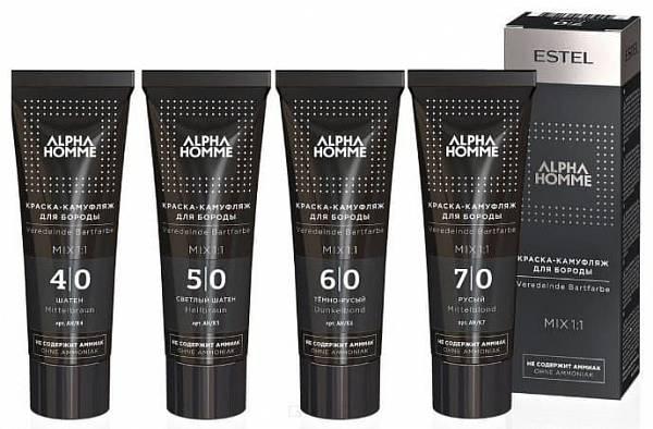 Estel Alpha Homme Style Краска-камуфляж для бороды