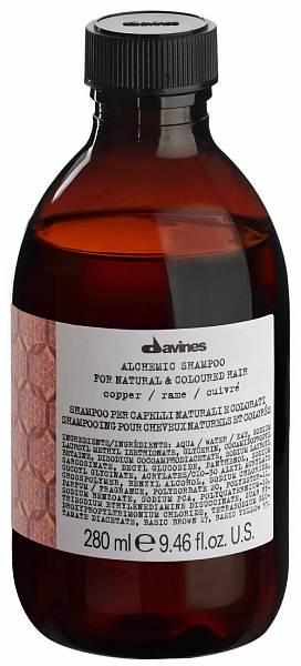 Davines Alchemic Шампунь для натуральных и окрашенных волос (медный)