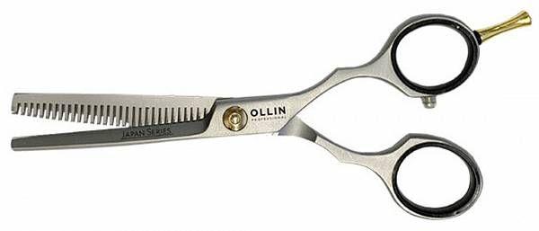 Ножницы JAPAN SERIES филировочные японская сталь HJ783 55 35 зубцов Ollin Professional