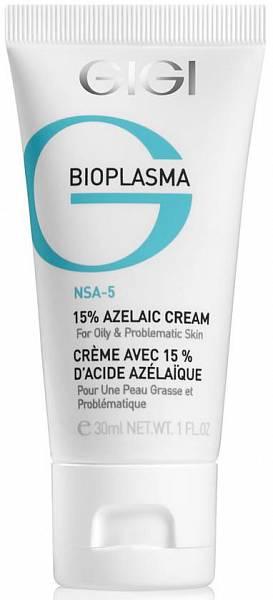GIGI Bioplasma Azelaic Cream Крем с 15% азелаиновой кислотой для жирной кожи