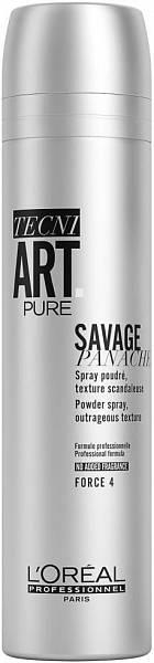 Loreal TecniArt Сухой спрей с пудровой текстурой для объёма Savage Panache Volume