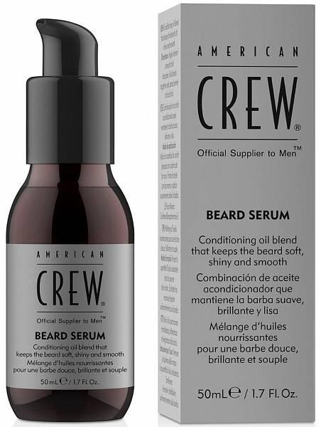 American Crew Сыворотка для бороды Beard Serum American