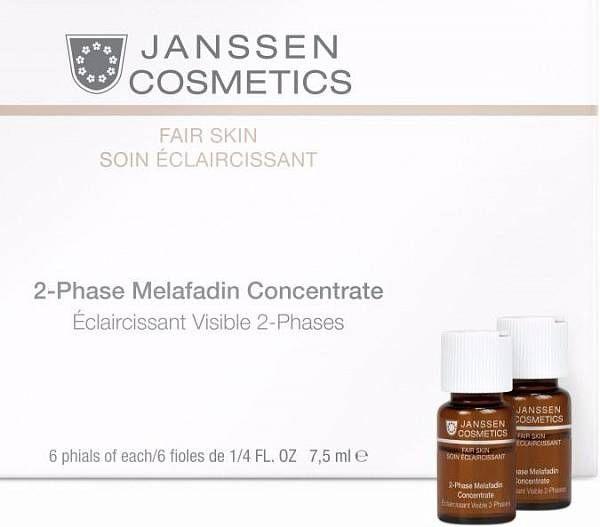 Janssen Fair Skin Двухфазный осветляющий комплекс Melafadin Concentrate