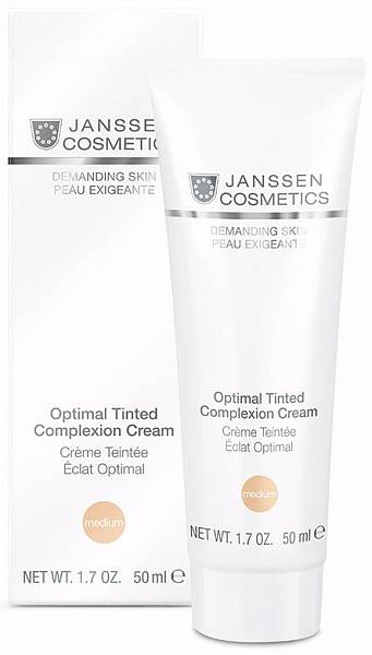 Janssen Demanding Skin Дневной крем Medium SPF 10 Optimal Tinted Complexion