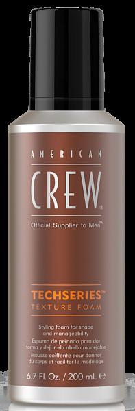 American Crew Techseries Пена для укладки Texture Foam