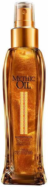 Loreal Mythic Oil Мерцающее масло для волос и тела