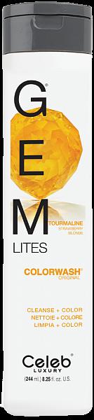Celeb Gem Lites Шампунь для яркости цвета Турмалин