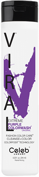 Celeb Viral Шампунь оттеночный Ярко фиолетовый