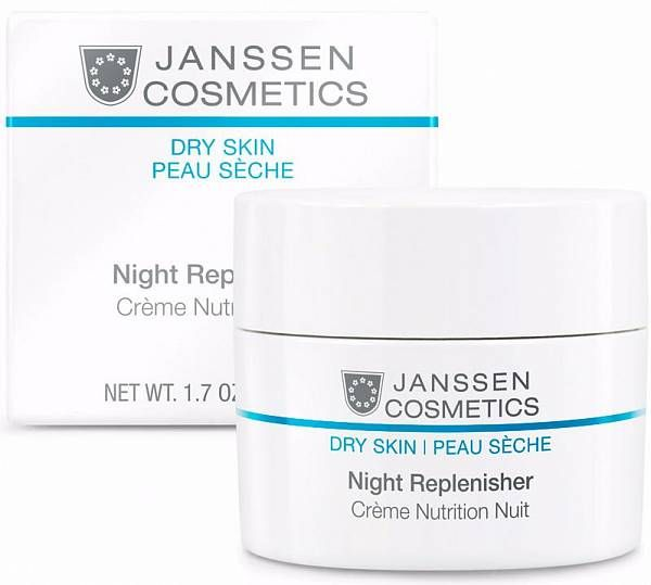 Janssen Dry Skin Питательный ночной регенерирующий крем Night Replenisher