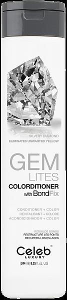 Celeb Gem Lites Кондиционер тонирующий цвет Серебристый Бриллиант
