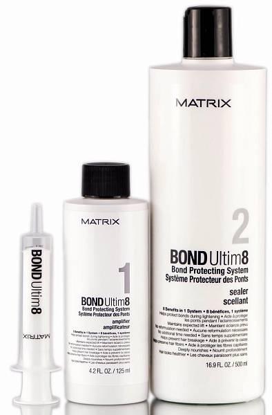 Matrix Система для защиты волос во время химических воздействий Bond Ultime8
