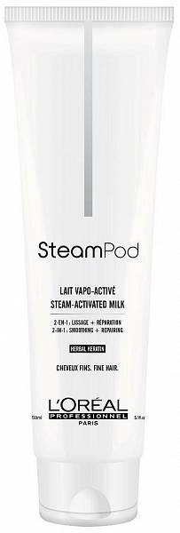 Loreal Steampod Разглаживающий крем для волос