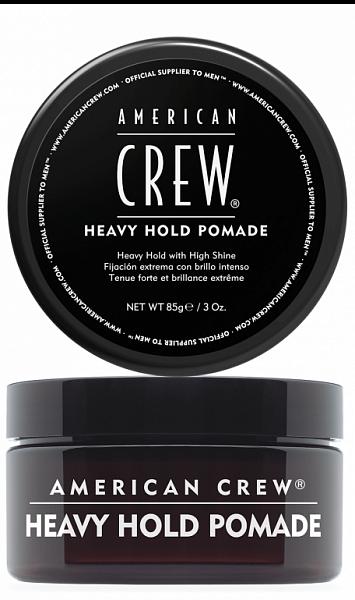 American Crew Помада сильной фиксации Crew Heavy Hold Pomade