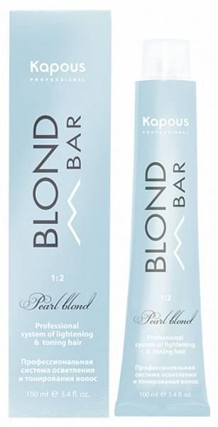 Kapous Professional Крем-краска для волос с экстрактом жемчуга Blond Bar