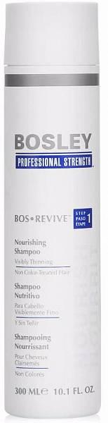 Bosley Revive Шампунь питательный для истонченных неокрашенных волос