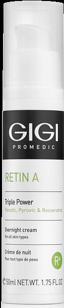 GIGI Retin A Крем ночной пролонгированного действия тройная сила