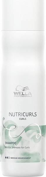 Wella NutriCurls Мицеллярный шампунь для кудрявых волос