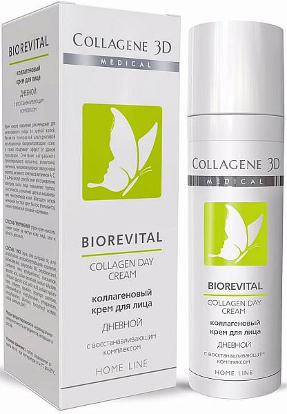 Medical Collagen 3D Biorevital Крем для лица дневной