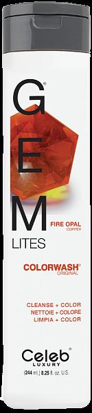 Celeb Gem Lites Шампунь для яркости цвета Огненный Опал