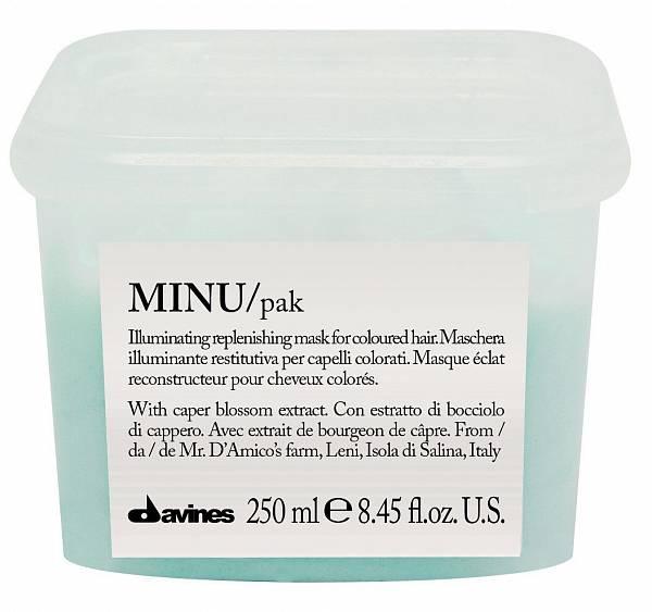 Davines Essential Восстанавливающая маска для окрашенных волос MINU