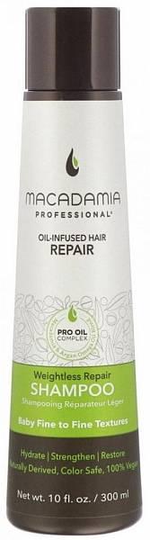 Macadamia Professional Шампунь восстанавливающий для тонких волос