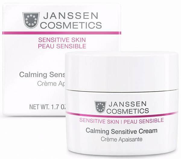 Janssen Sensitive Skin Успокаивающий крем для лица Calming Sensitive Cream