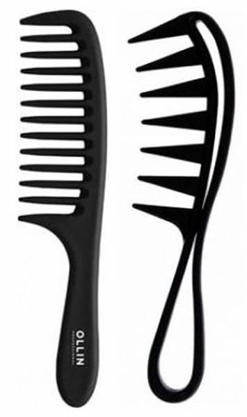 Ollin Professional Расческа-гребень с крупными зубцами и ручкой