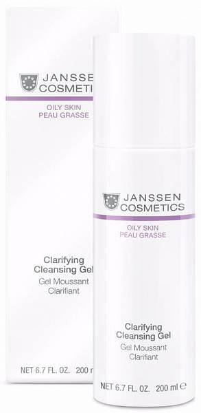 Janssen Oily skin Очищающий гель Clarifying Cleansing Gel