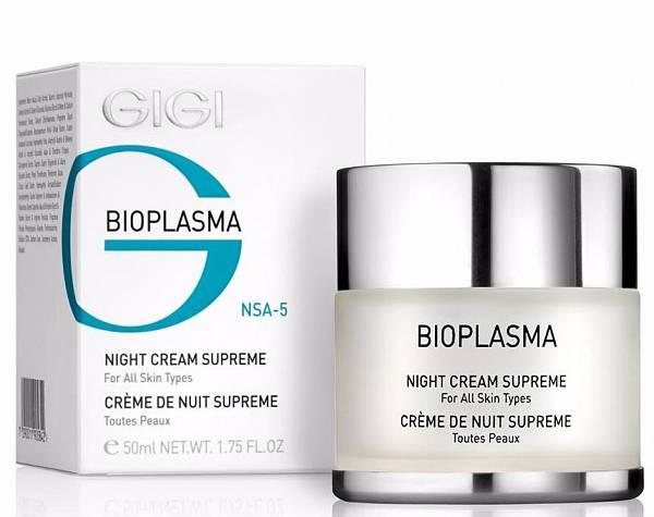 GIGI Bioplasma Night Cream Supreme Крем ночной для лица