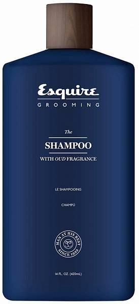 Esquire Grooming Шампунь для мужчин с ароматом дерева Уд
