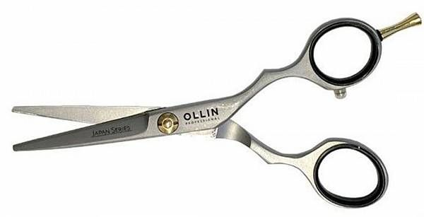 Ножницы JAPAN SERIES для стрижки японская сталь H100 55 Ollin Professional