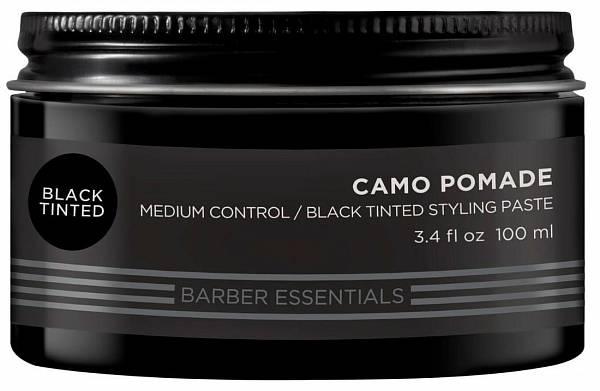 Redken Brews Чёрная камуфлирующая помада-паста Color Camo   Купить в Karamel Shop