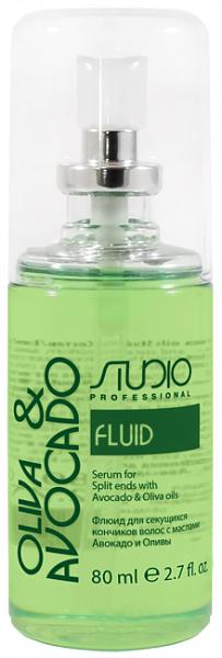 Kapous Olive and Avocado Флюид для секущихся кончиков волос с маслами авокадо и оливы
