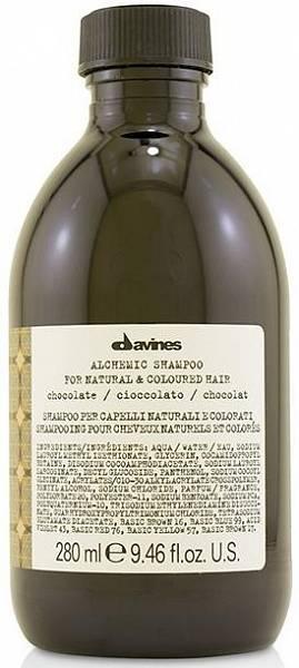 Davines Alchemic Шампунь для натуральных и окрашенных волос (шоколад)