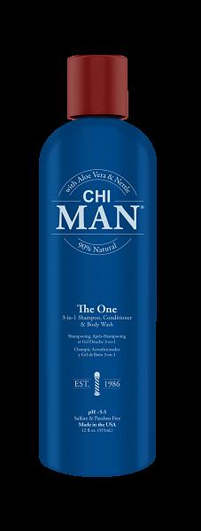 Шампунь кондиционер и гель для душа 3-в-1 CHI Man
