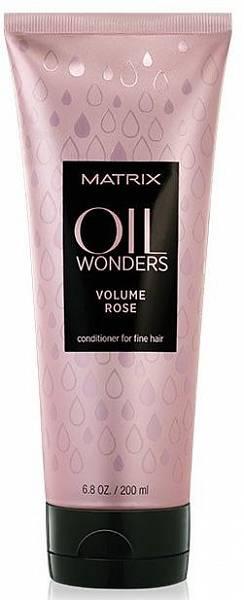 Matrix Oil Wonders Volume Rose Легкий кондиционер для объёма тонких волос