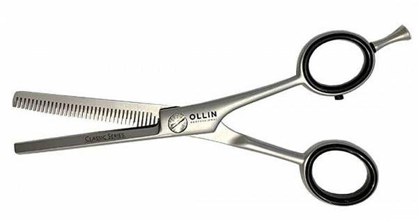 Ножницы CLASSIC SERIES филировочные H11 55 35 зубцов Ollin Professional