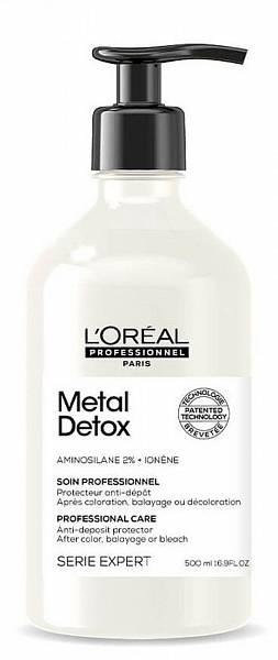 Loreal Metal Detox Смываемый уход кондиционер