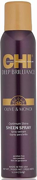 CHI Deep Brilliance Спрей для волос глянцевое сияние