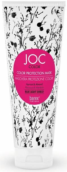 Barex JOC Color Маска Стойкость цвета Абрикос и Миндаль
