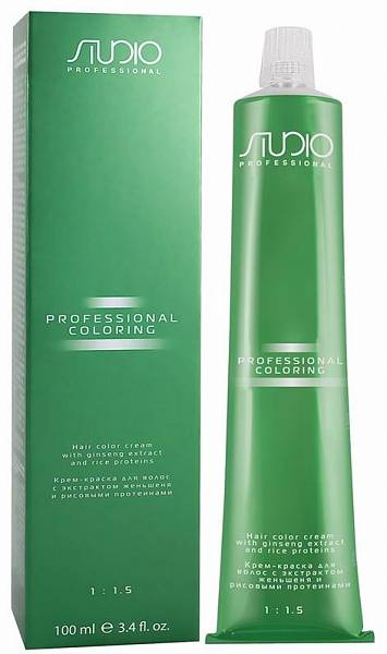 Kapous Studio Professional Крем-краска для волос с рисовыми протеинами