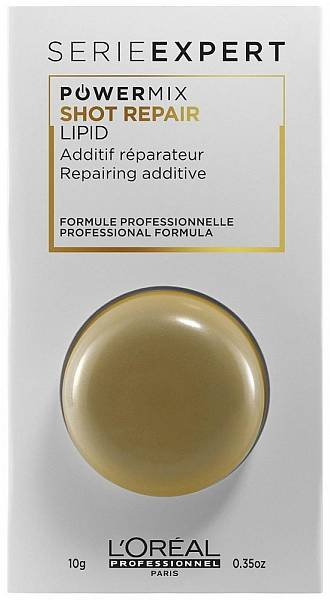 Loreal Absolut Repair Lipidium Концентрат для восстановления волос PowerMix Shot