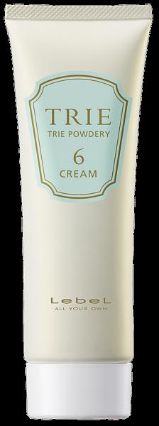 Lebel Trie Gelee&Cream Крем матовый для укладки волос средней фиксации Powdery 6