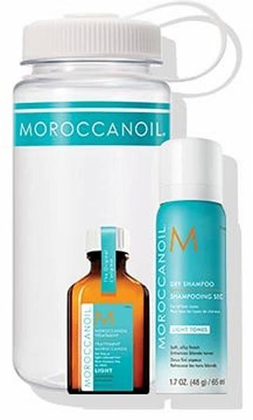 Moroccanoil Фитнес-набор для светлых волос
