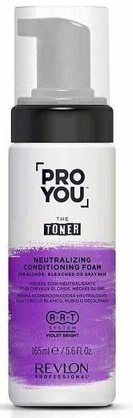 Revlon Pro You The Toner Нейтрализующая пена для светлых или седых волос