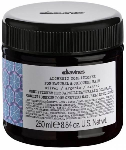 Davines Alchemic Кондиционер для натуральных и окрашенных волос (серебряный)