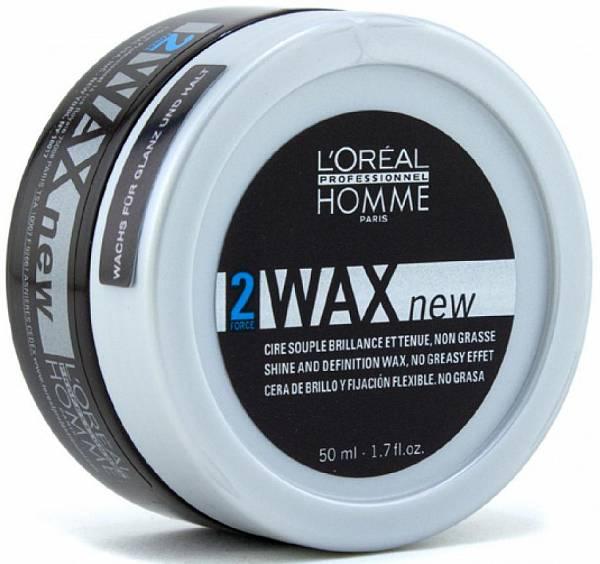 Loreal Homme Воск для волос Wax 2