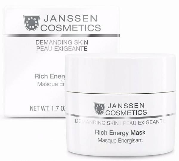Janssen Demanding Skin Энергонасыщающая регенерирующая маска Rich Energy Mask