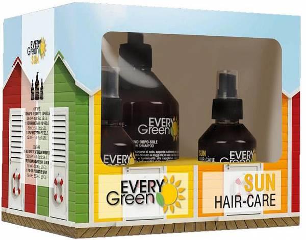 Dikson Everygreen Sun Набор солнцезащитных средств для ухода за волосами