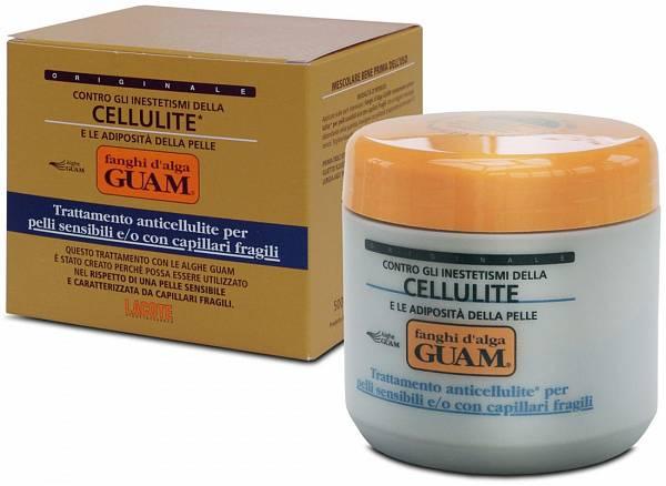 Guam Маска антицеллюлитная для чувствительной кожи Fanghi D'alga